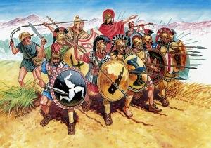 la guerra del peloponeso. De qué va eso
