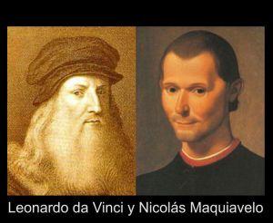 Leonardo da Vinci y Nicolás Maquiavelo