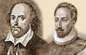 Miguel-de-Cervantes-y-William-Shakespeare