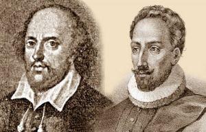 Miguel-de-Cervantes-y-William-Shakespeare