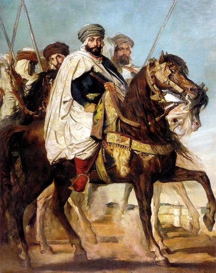 ali-ben-hamet-caliph-of-constantine-and-chief-of-the-haractas-followed-by-his-escort-1845